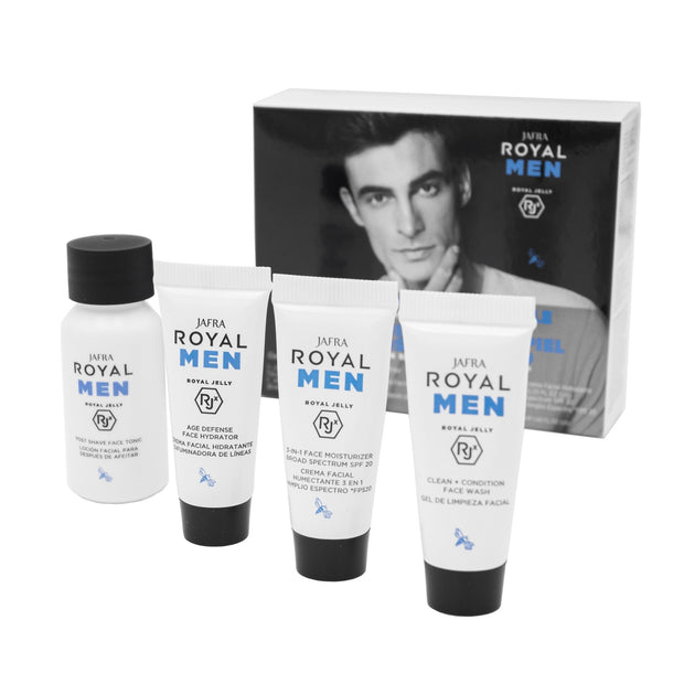 Royal Men Pflegeritual BASIC-SET (4 Produkte) - Modern Gentleman Shop