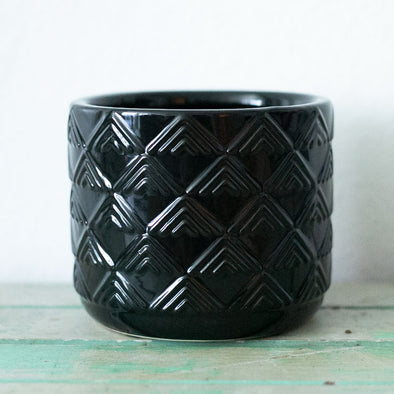 "4"" Black Diamond Pot"