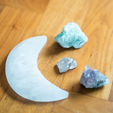 Moon Crystal Set