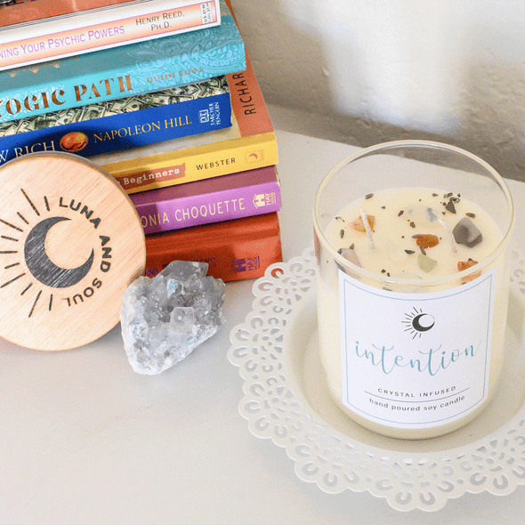 Luna & Soul: Intention Candle