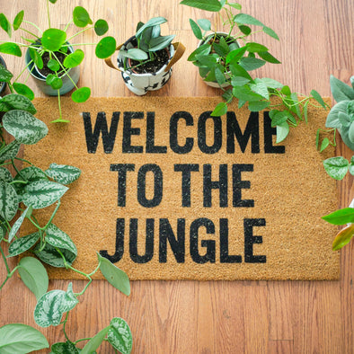 'Welcome to the Jungle' Door Mat