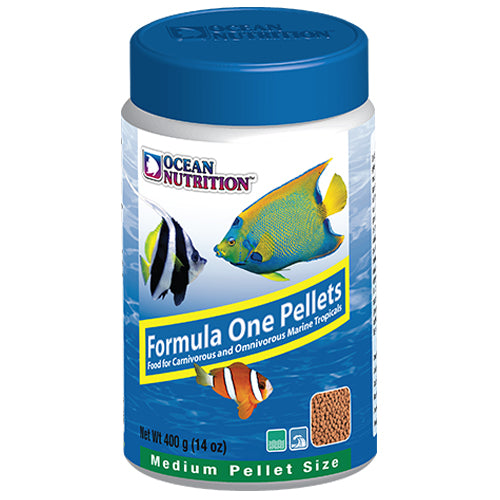Ocean Nutrition 400g Formula 1 Marine Pellet Food (Medium)