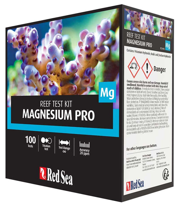 Red Sea Magnesium Pro Test Kit - 100 Tests