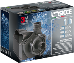 Multi Quiet 4000 Water Pump (990 GPH) - Sicce
