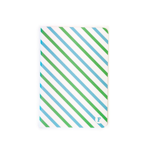 Candy Stipped Notebook - A5