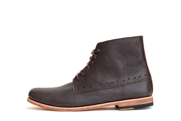 Hatchet - Choc - Leather Sole