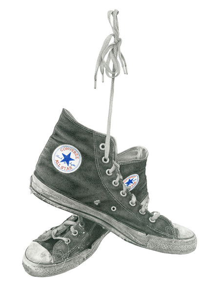 Black Chucks | Art