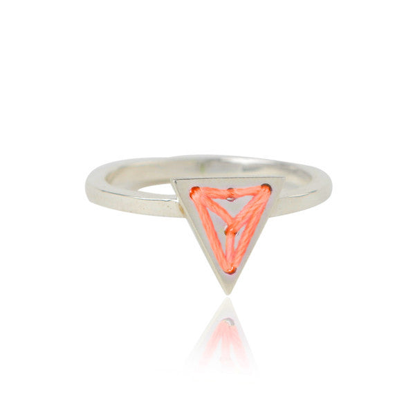 Triangle Charmer Ring