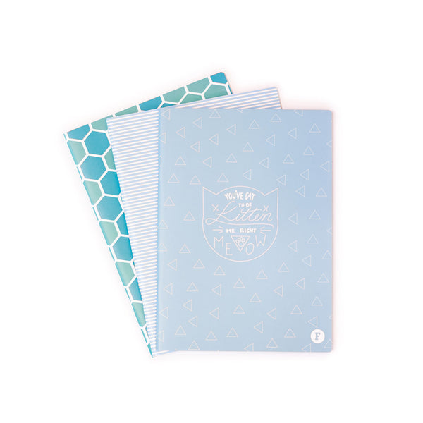 A4 Exercise Books - 3 Pack
