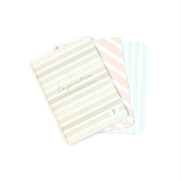 A6 Pocketbook - 3 Pack. Inspiration/Mistakes/Dreams