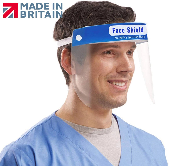 Plastic Safety Anti-Fog Protective Full Face Shield - The Screen Company