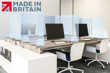 Load image into Gallery viewer, Quality UK Made Sneeze Screen - 4mm Desk Top Guard 700 x 600mm - The Screen Company
