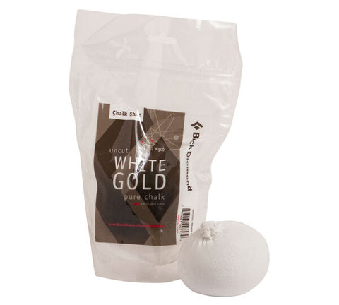 Black Diamond White Gold Refillable Chalkball