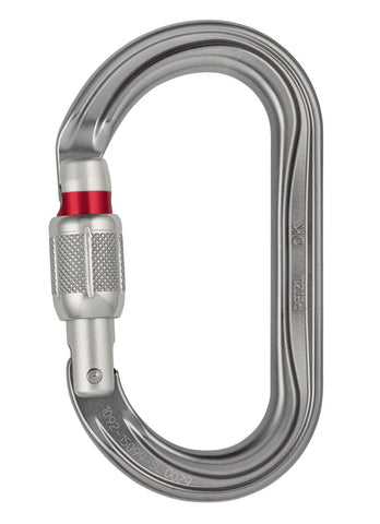 Petzl OK Oval Screwgate Locker