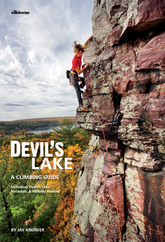 Devil's Lake Climbing. WI
