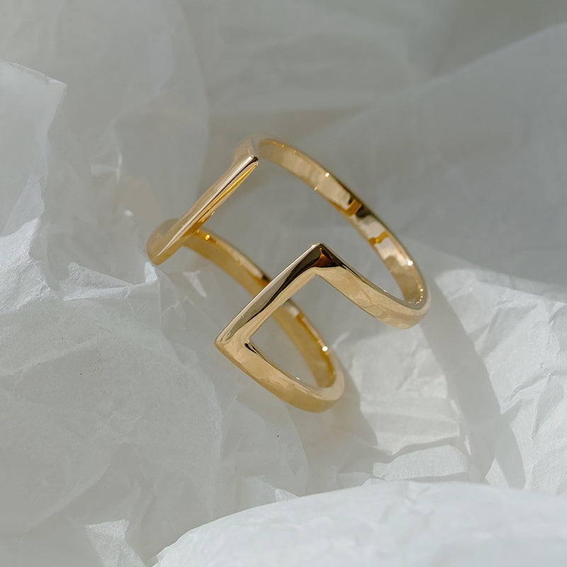 18k Gold Vermeil Ring