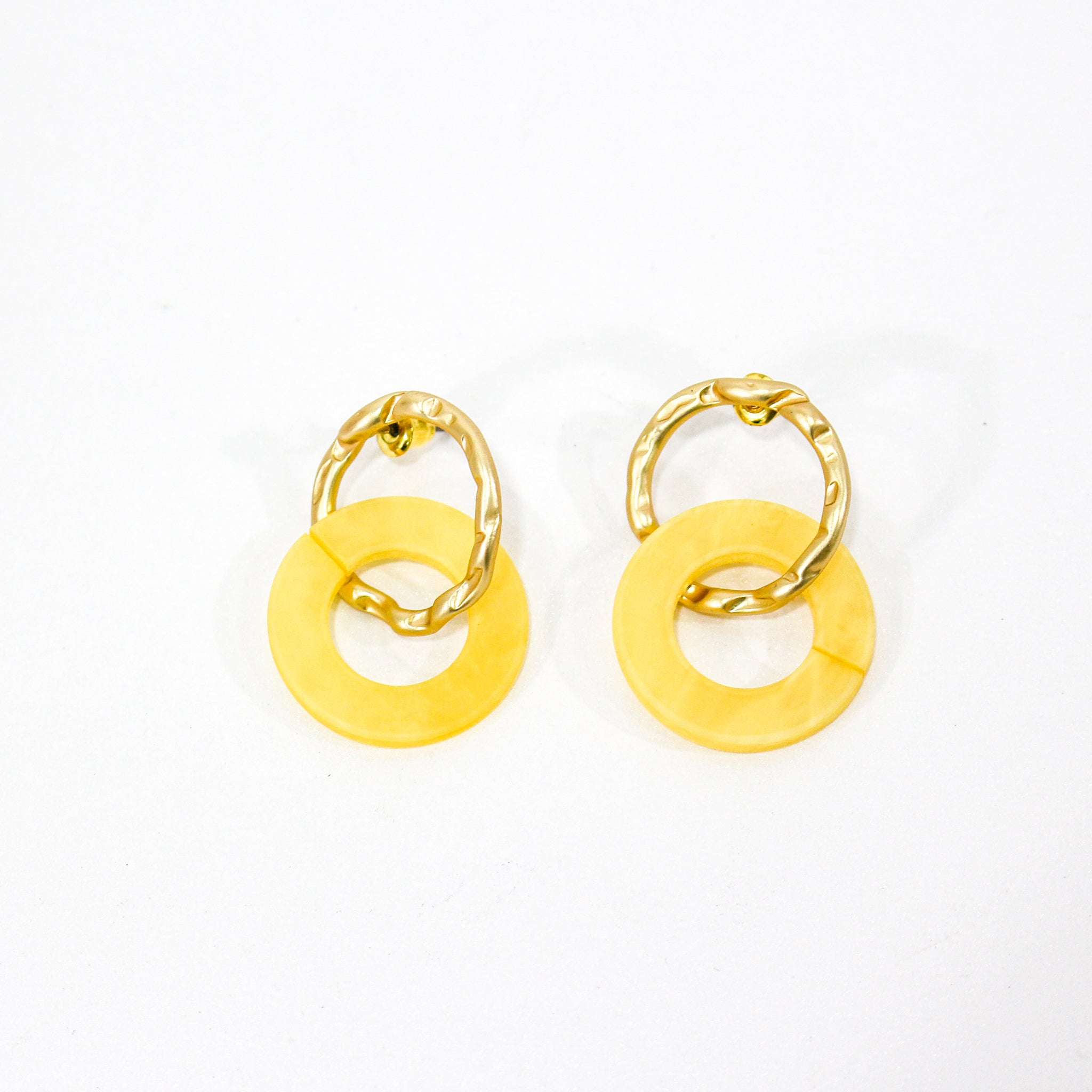 Celia Irregular Loop Earrings