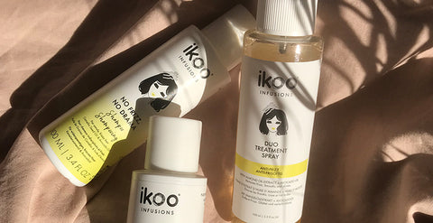 ikoo Anti Frizz collection shampoo conditioner spray