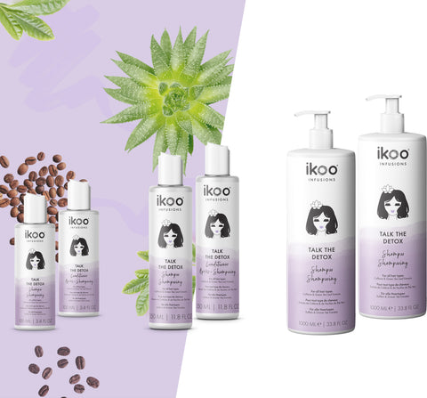 ikoo Talk the Detox Shampoo and Conditioner