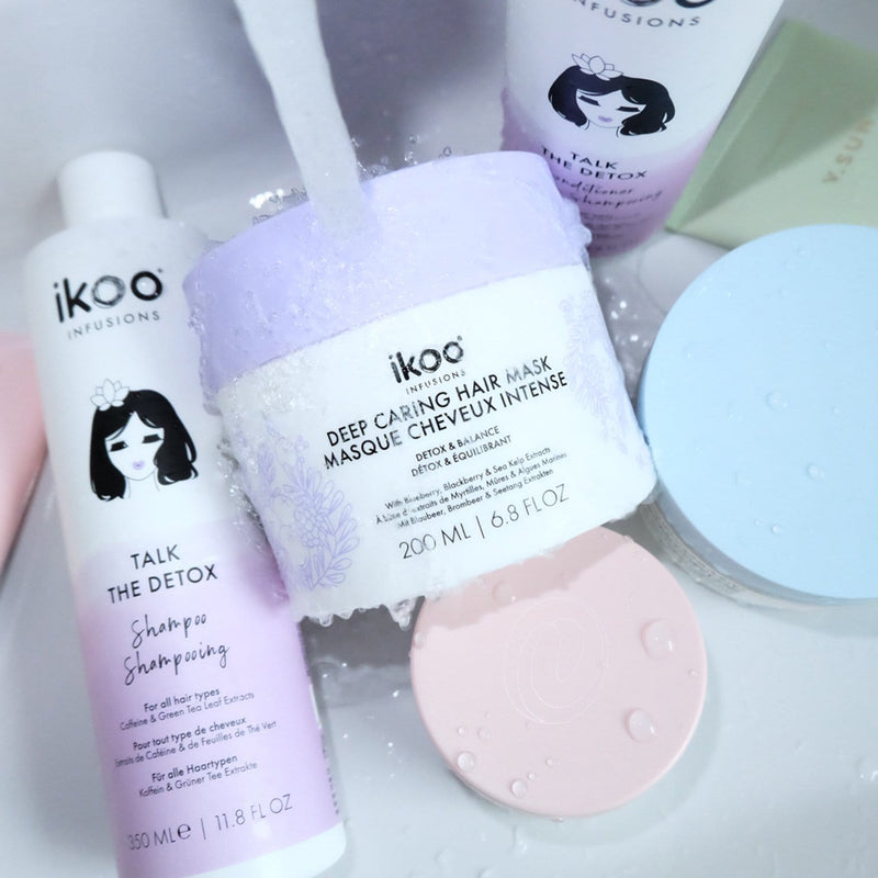 DETOX TOGETHER: SHAMPOO + CONDITIONER + MASK
