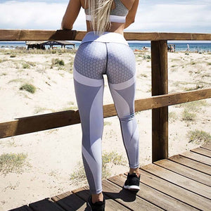Hight Waisted Printed Leggings Sexy Gym Fitness Yoga Pants for Wome