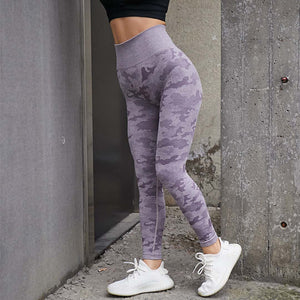 WOMEN HIGH WAIST QUICK DRY  SEAMLESS SPORT LEGGINGS