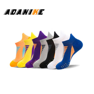 Men Women Sports Socks Riding Cycling Basketball Running
