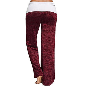 Women Comfy Palazzo Pants Casual High Waist Leg Trousers