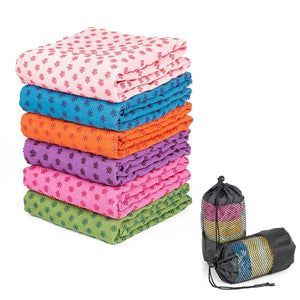 Non Slip Yoga Towel,Ideal for Hot Yoga, Bikram, Pilates(183*63cm )
