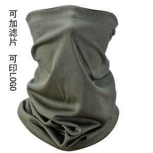 Summer UV Protection Face Cover  Neck Scarf Breathable