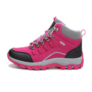 waterproof hiking shoes woman outdoor trekking boots climbing treking mountain