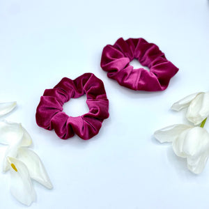 The Cerise Scrunchie