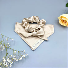 Load image into Gallery viewer, The Ballet Satin Bow Scrunchie