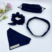 Load image into Gallery viewer, The Sapphire Ruched Hairband