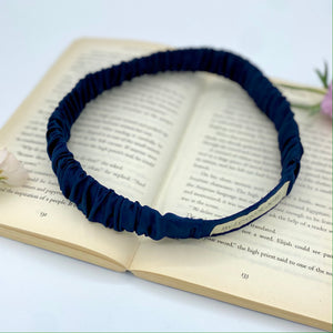 The Sapphire Ruched Hairband