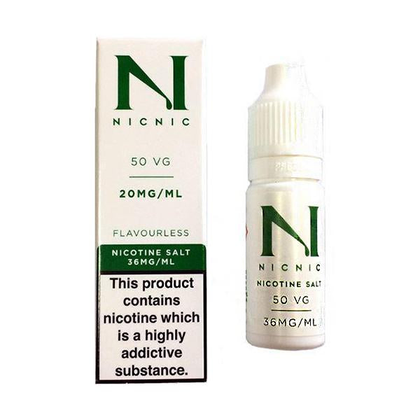 20mg Nic Salt 10ml by Nic Nic (50VG-50PG) - Eliquid