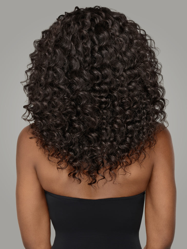 Deep Wave Hair,Bundles With Lace Closure,Unprocessed Virgin Hair,Remy Hair by Indique