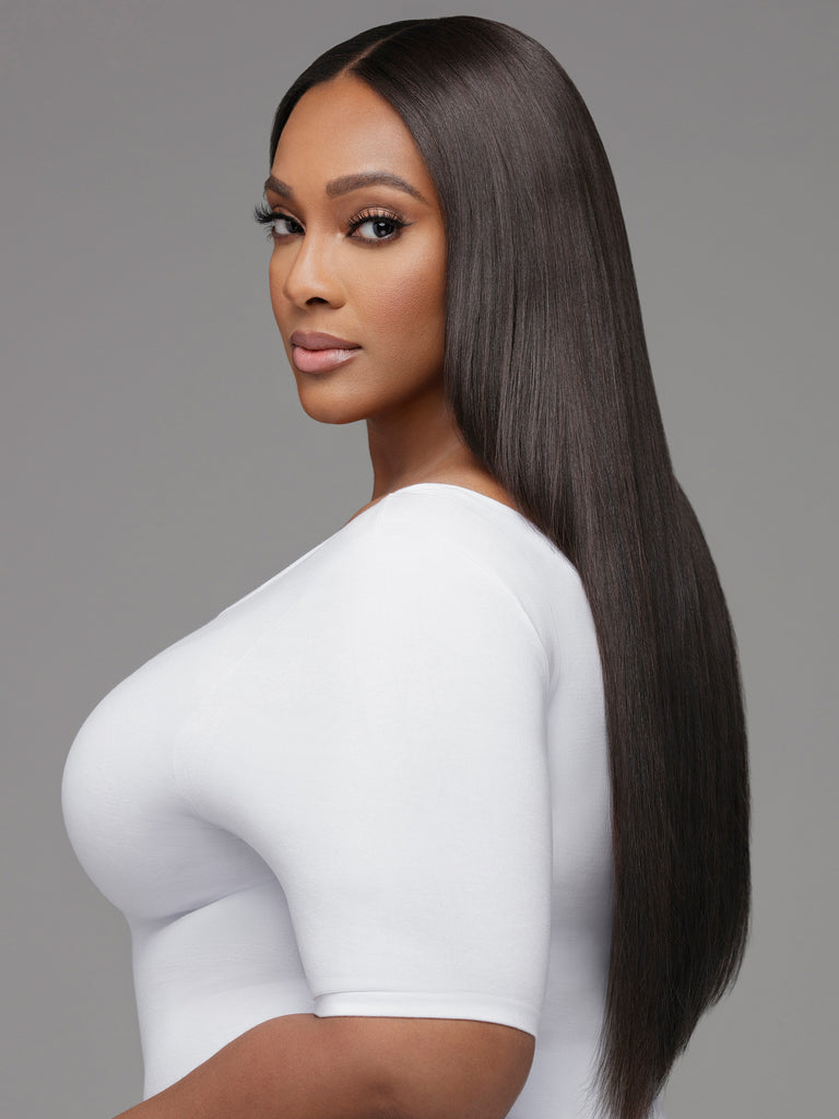 Brazilian Hair,Curly Human Hair Wigs,Body Wave With Closure,Deep Wave With Closure by Indique Hair