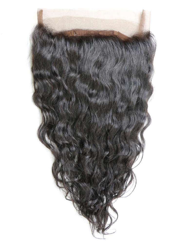 360 Natural Wavy Lace Frontal