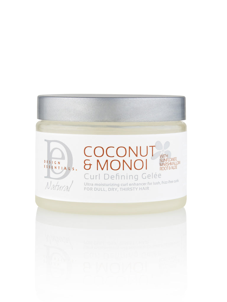 Design Essentials® Coconut & Monoi Curl Defining Gelée: 12 OZ