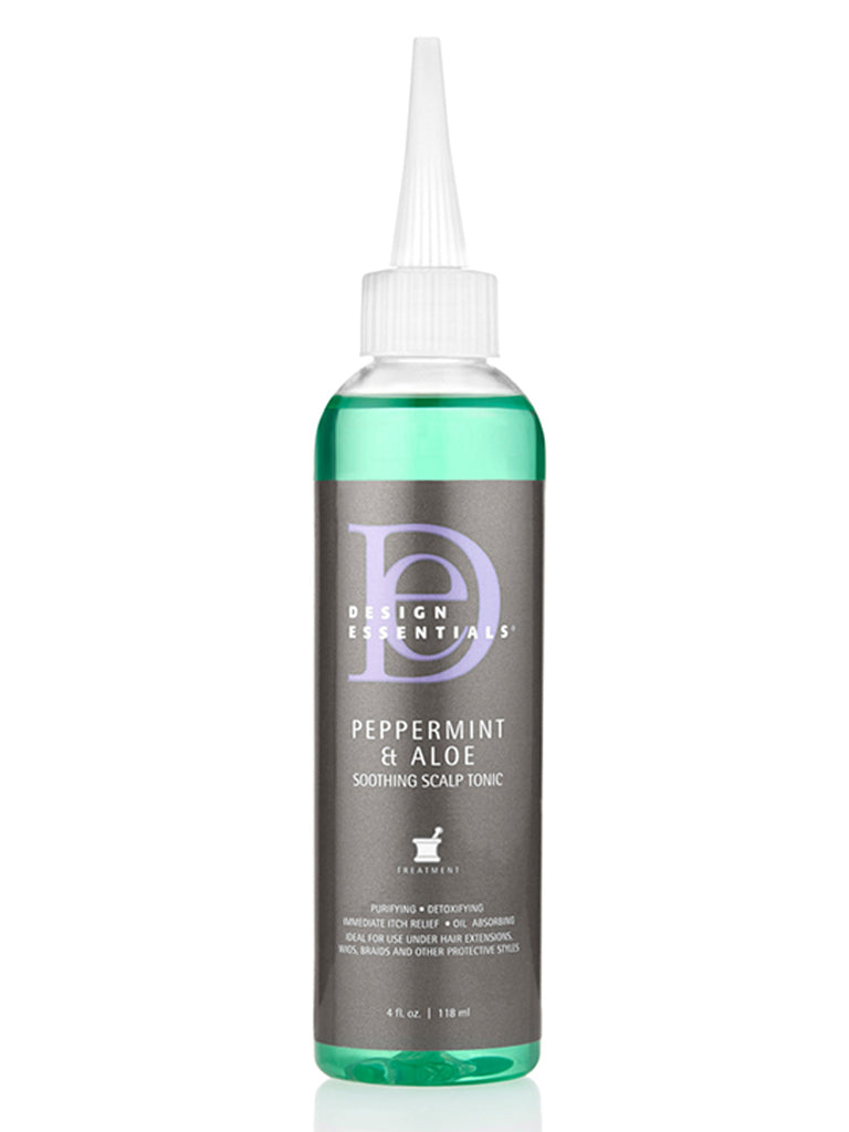 Design Essentials® Peppermint & Aloe Soothing Scalp Tonic: 4oz