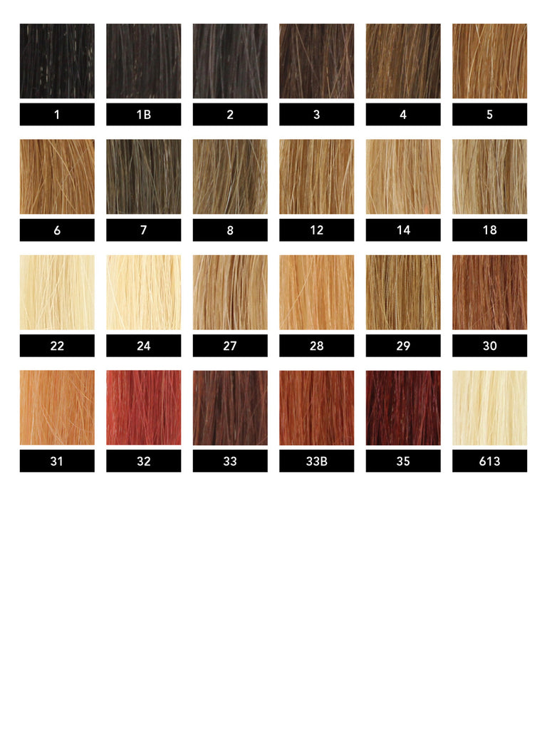 Fusion Hair extensions, Colored Keratin Extensions