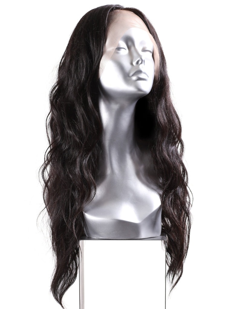 Natural Wavy Lace Front Wig