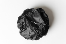 Load image into Gallery viewer, Curls Poppin' Reusable PVC Shower Cap