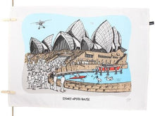 Load image into Gallery viewer, Sydney Opera House Tea Towel