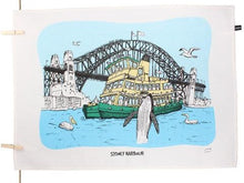 Load image into Gallery viewer, Sydney Harbour Tea Towel