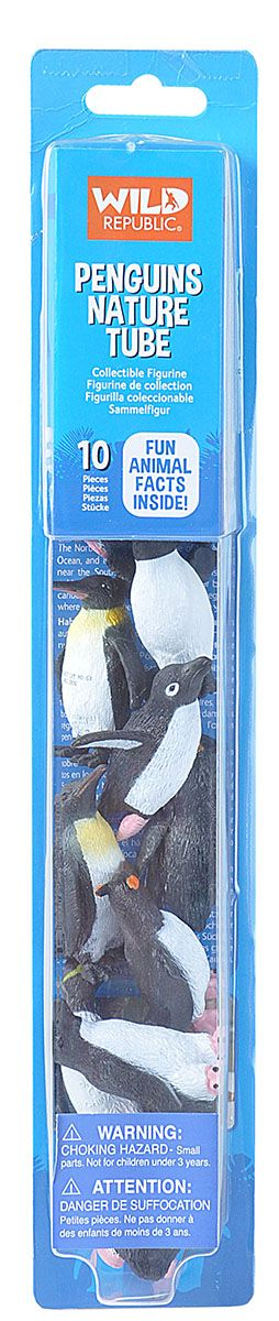 Nature Tube Penguin Collection