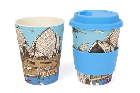 Sydney Opera House Eco-Bamboo Travel Mug