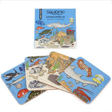 Load image into Gallery viewer, Australian Marine Life Coasters, Set of 4