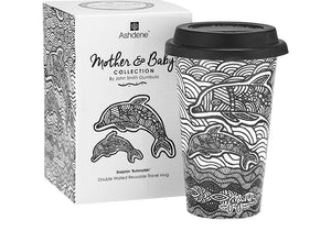 Mother & Baby Dolphin Travel Mug